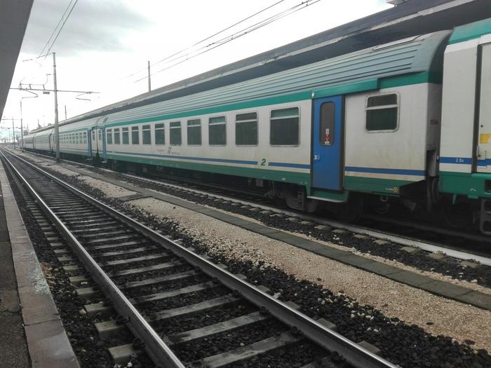 Un treno regionale