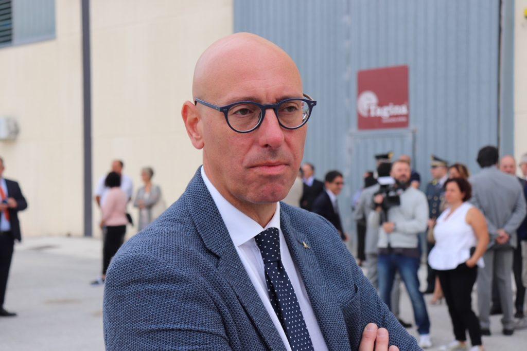 Massimiliano Presciutti, sindaco di Gualdo Tadino