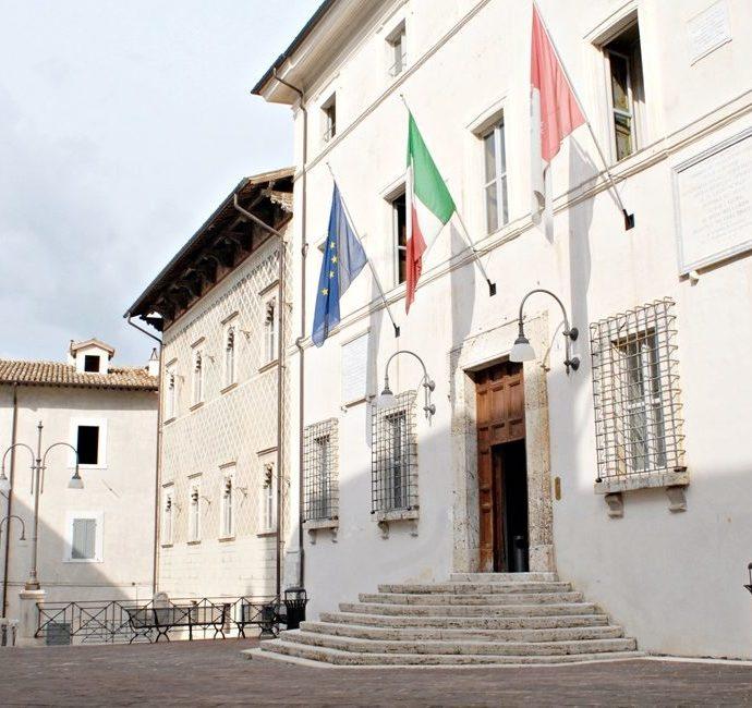 La sede del Comune di Spoleto