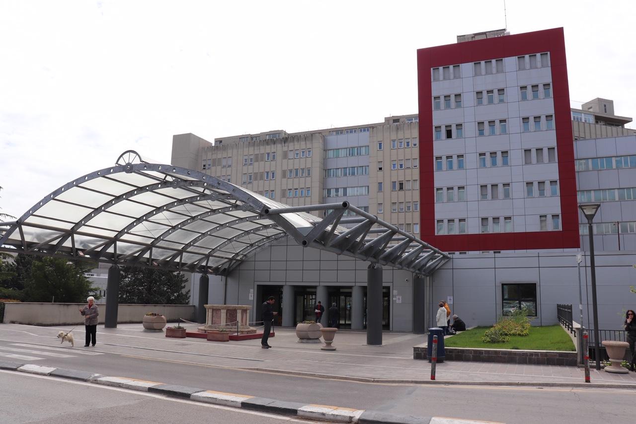 L'ospedale Santa Maria della Misericordia di Perugia