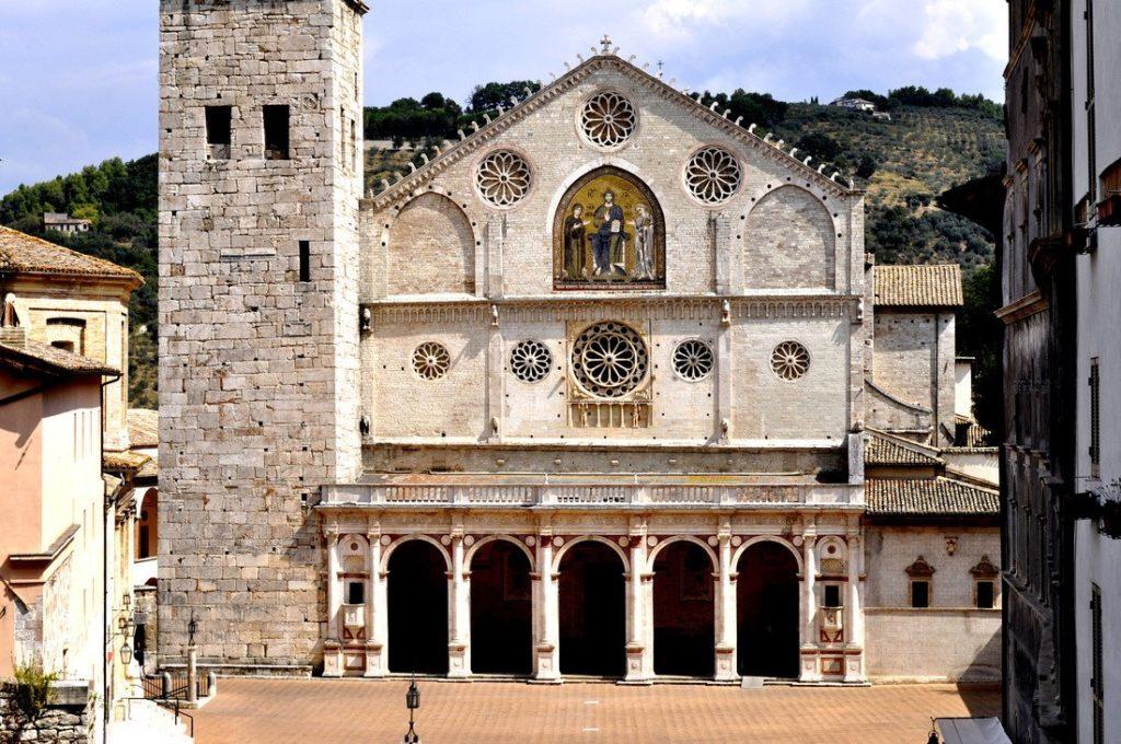 La Facciata del Complesso Monumentale del Duomo di Spoleto