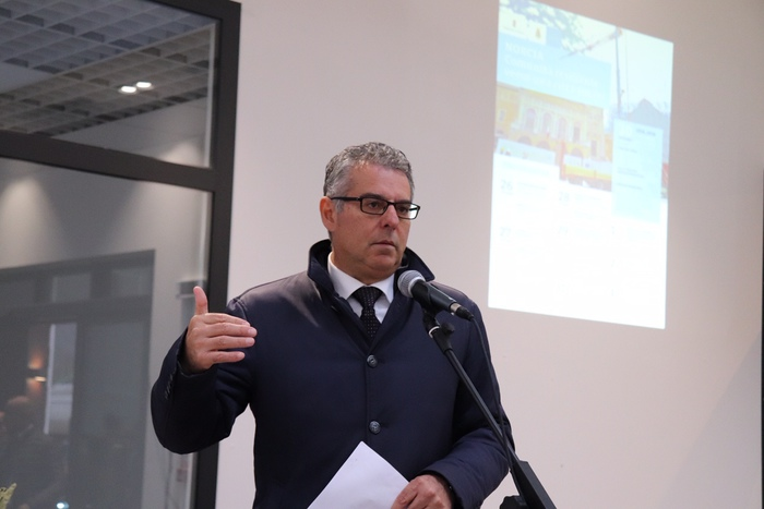 Il sindaco di Norcia, Nicola Alemanno