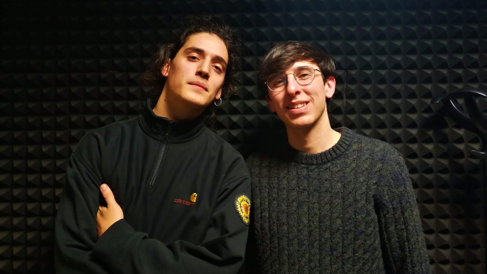 Luca e Giacomo pronti per Sunflowers