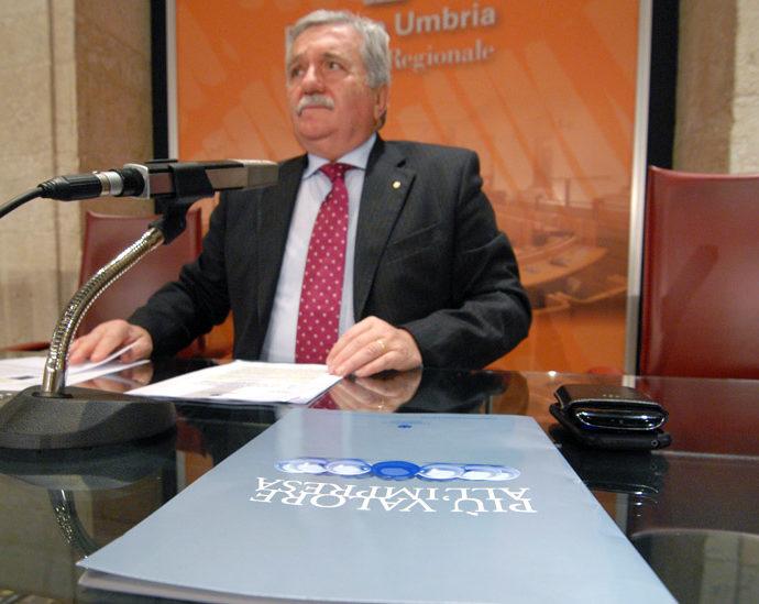 Giorgio Mencaroni, presidente di Confcommercio Umbria