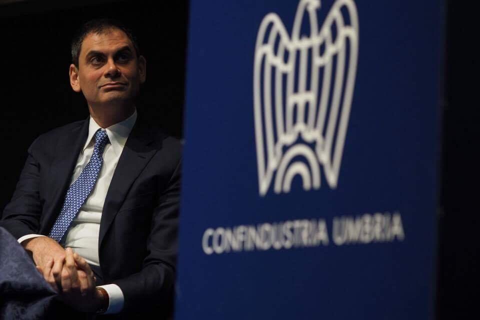 Antonio Alunni presidente Confindustria Umbria