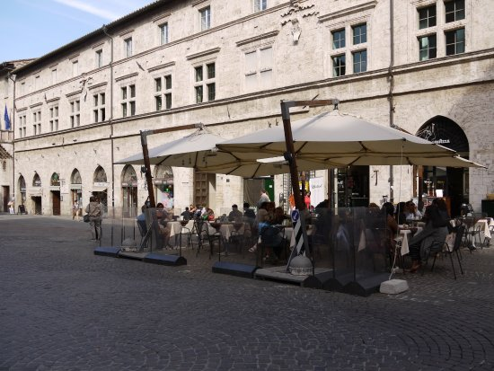 Piazza Mazzini a Perugia