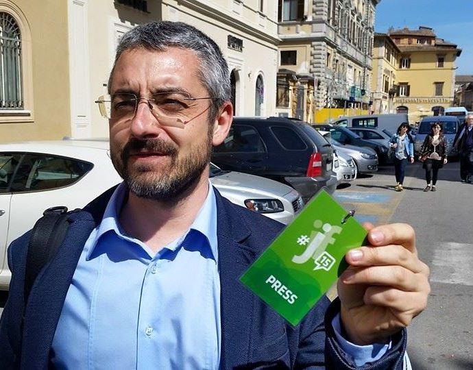 Ivano Porfiri. Con in mano il pass di umbriajazz. Cultura umbra