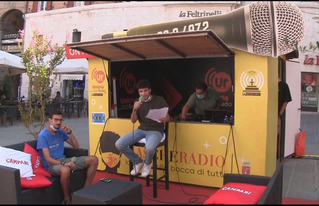 Martino Tosti conduce il programma radio Duc in altum