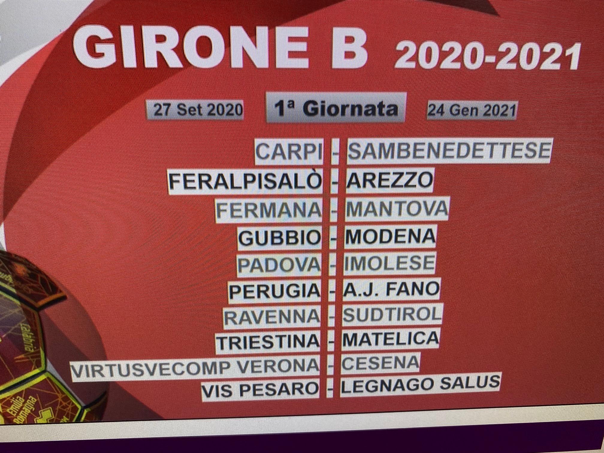 Perugia Calcio: Definito il calendario. Si parte col Fano in casa