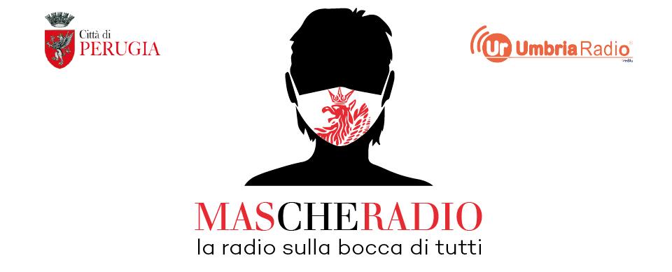 Mascheradio, la web radio della città di Perugia