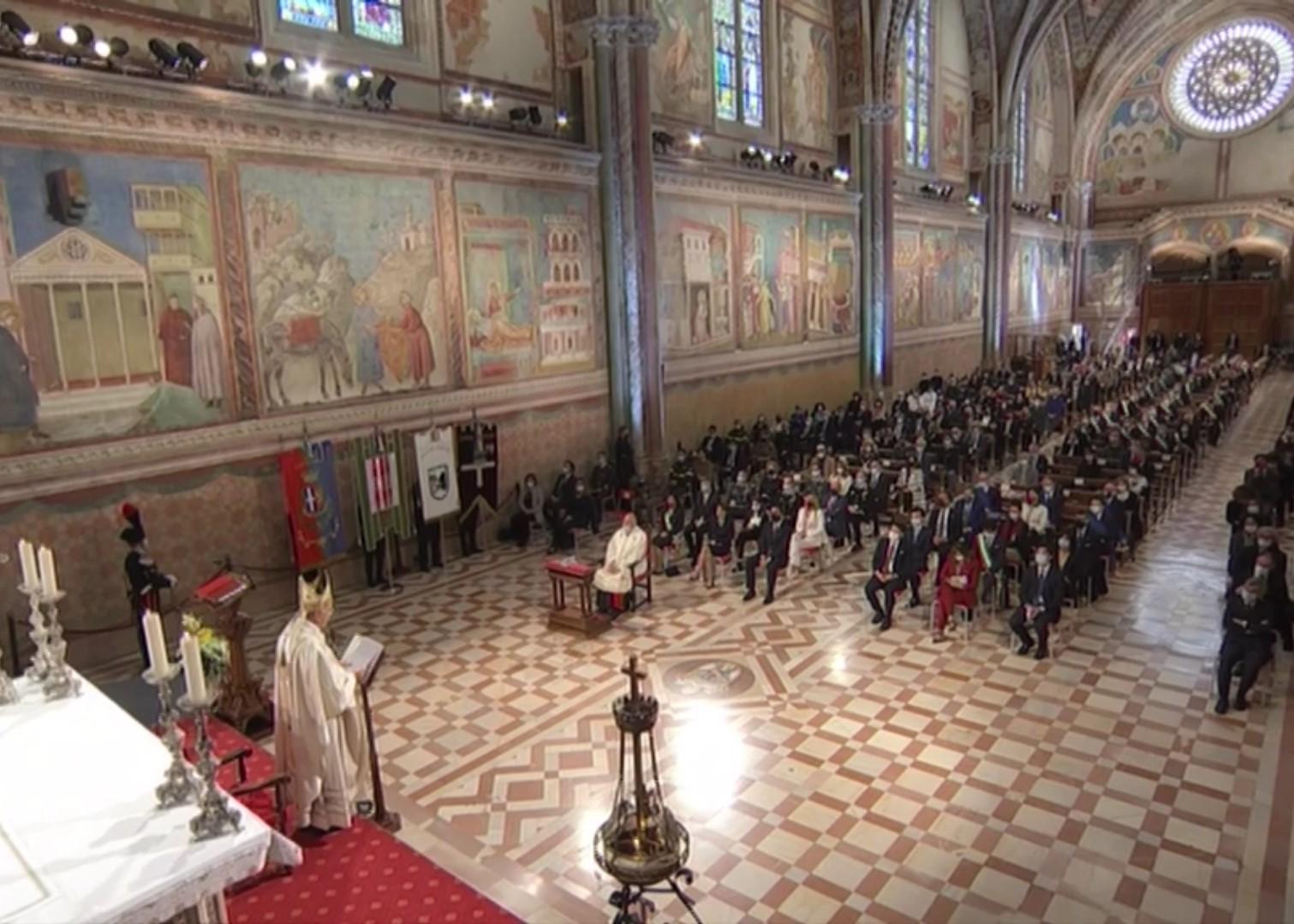 assisi festa san francesco 2020