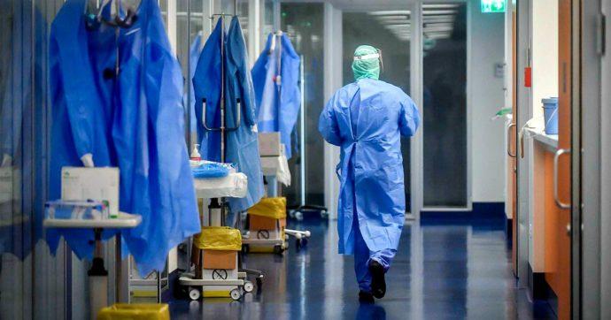 Una corsia d'ospedale
