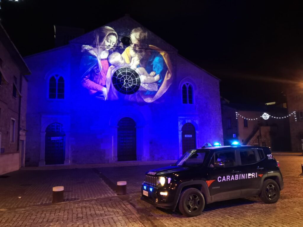I Carbinieri vigilano sul Capodanno a Terni