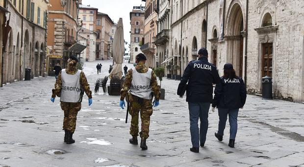 Controlli in corso Vannucci a Perugia