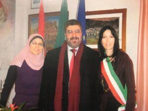 Nadia Ginetti con Abdel Qader e signora