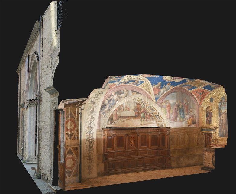 Il Nobile Collegio del Cambio di Perugia digitalizzato in 3D