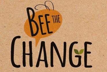 Il logo del progetto 'Bee the Change'