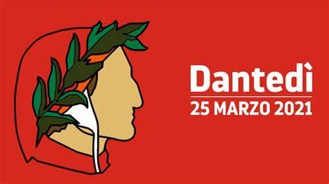 Il logo del Dantedì 2021