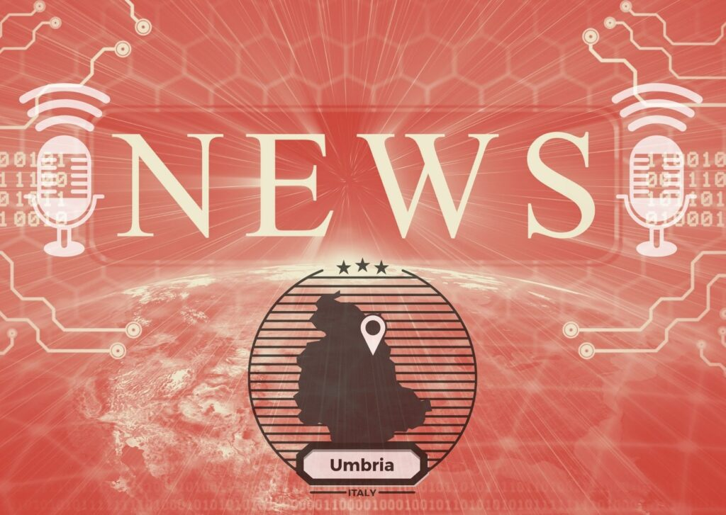 News, copertina del giornale radio di Umbria radio