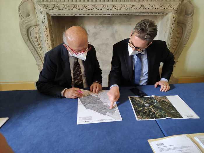 Incontro tra gli assessori alle infrastrutture di Umbria e Marche