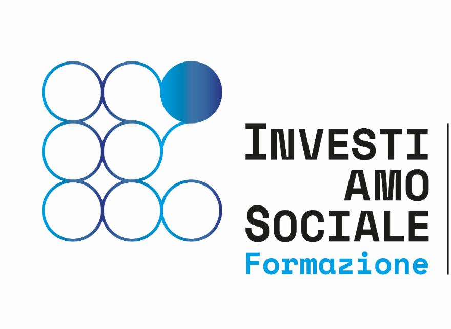 Il logo del progetto 'Investiamo sociale'