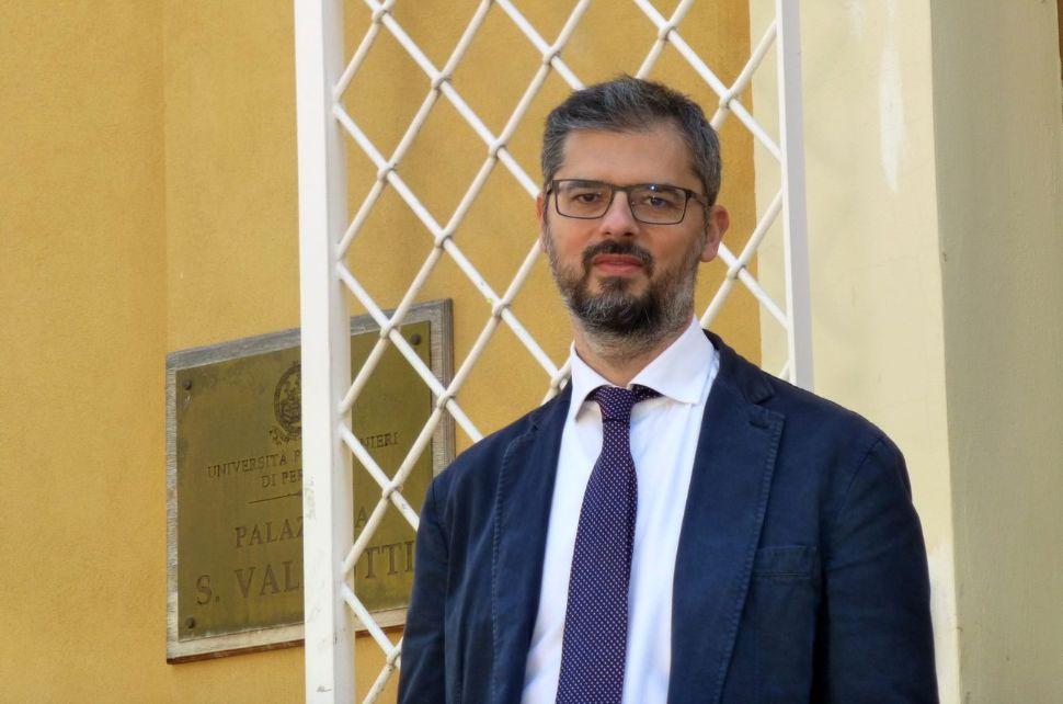 Il nuovo Rettore dell'Università per Stranieri di Perugia, Valerio De Cesaris