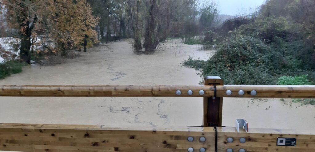 L'alluvione che nel giugno 2020 ha colpito il Comune di Amelia