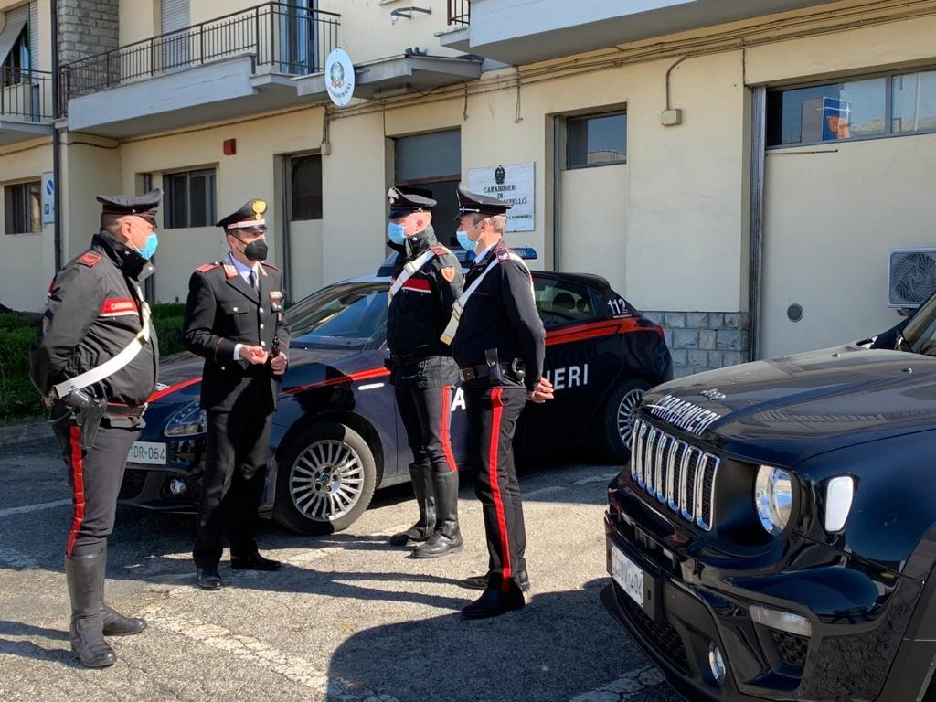 Carabinieri a Città di Castello
