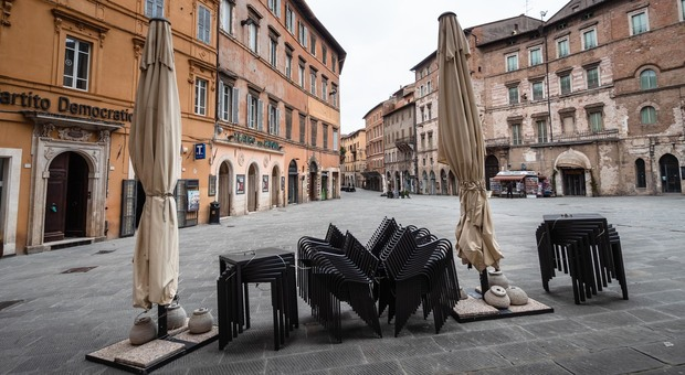 Corso Vannucci a Perugia