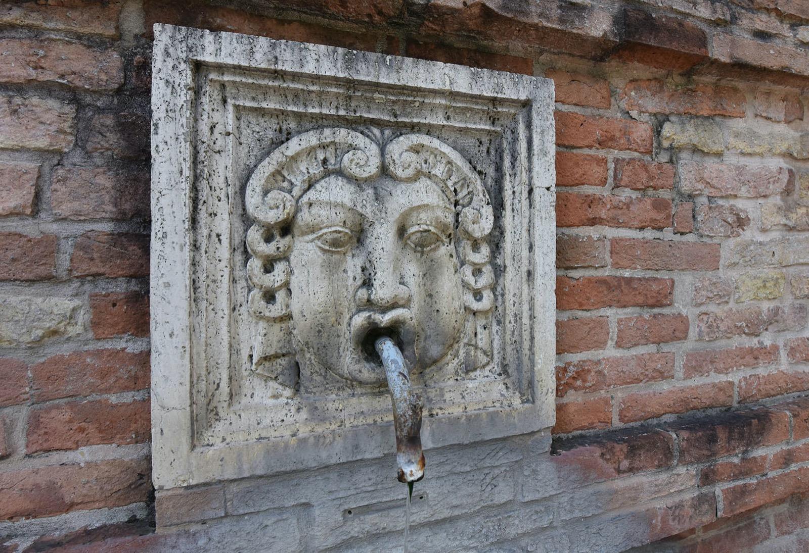 La Fonte di San Francesco a Ponte San Giovanni, restaurata grazie all'Art Bonus