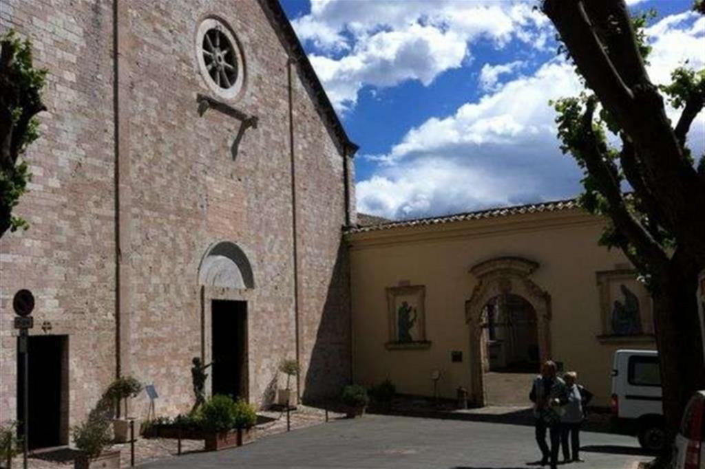 Il Santuario della Spogliazione di Assisi