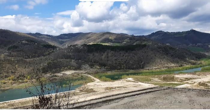 La Diga sul fiume Chiascio