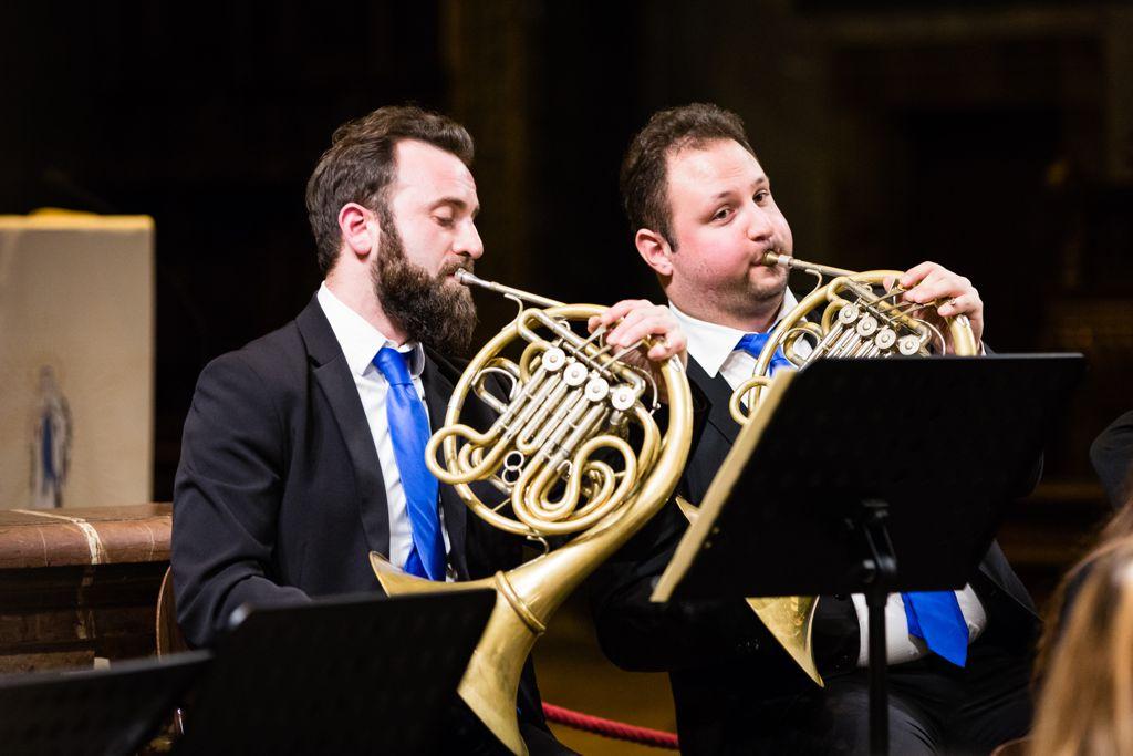 Il Duo di Corni dell'Orchestra da Camera di Perugia protagonista del primo appuntamento con 'Donatori di Musica'