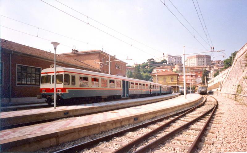 Una stazione della Ferrovia Centrale Umbra