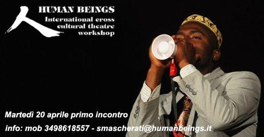 'Human Beings' : riparte il laboratorio teatrale interculturale