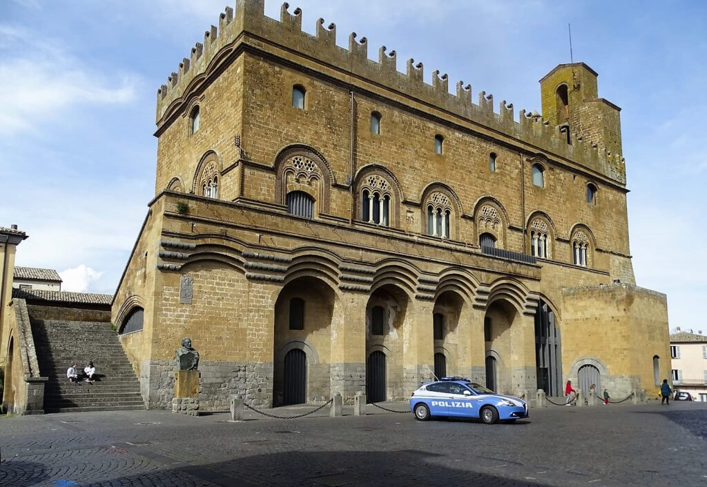 Il Commissariato di Polizia di Orvieto