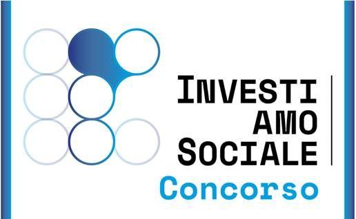 il logo del concorso 'InvestiAMOSociale'