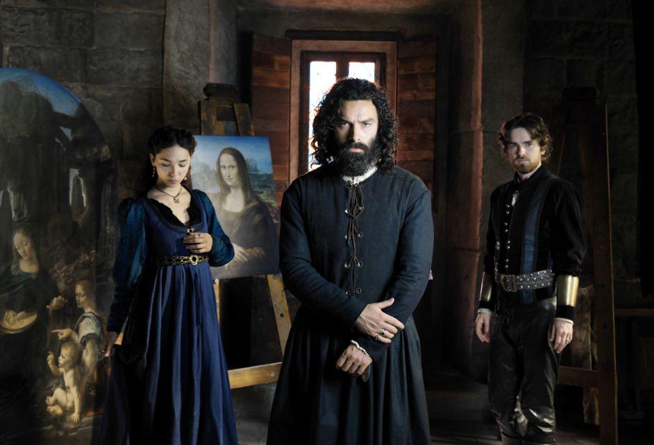 Una scena della serie televisiva 'Leonardo'