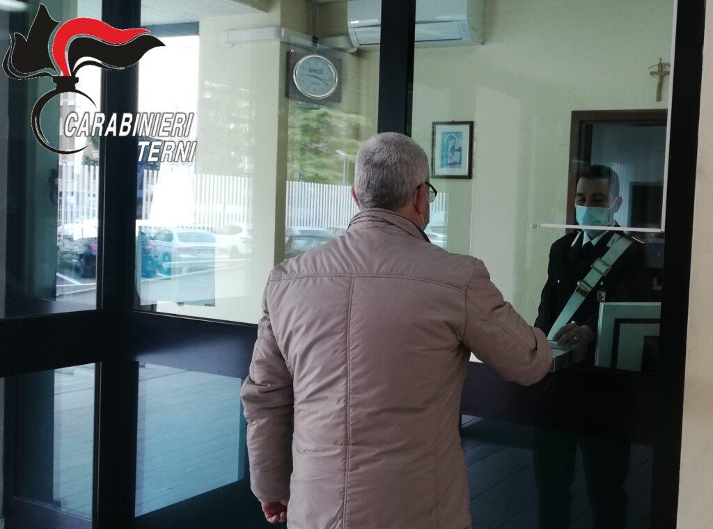 vaccinazioni anziani Carabinieri