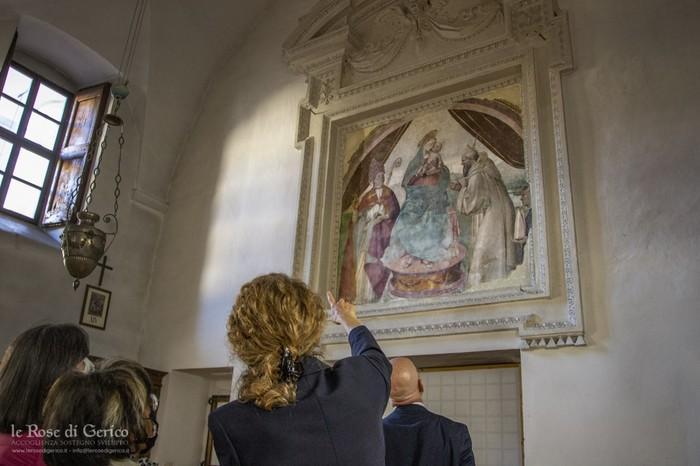 L'interno del monastero