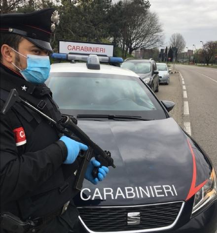 Un posto di bocco dei carabinieri