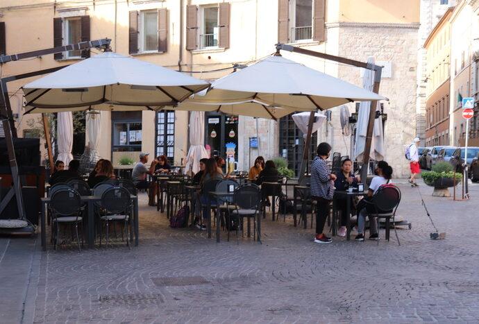 Umbria in zona bianca