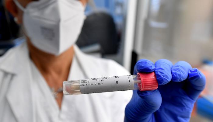 Una laboratorio analisi tamponi