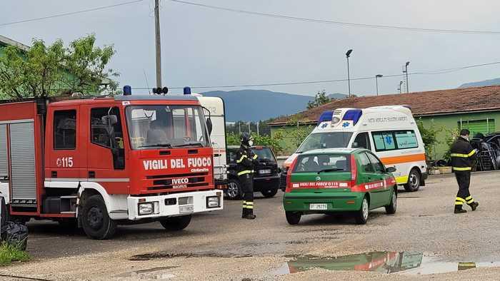 Il luogo dell'incidente (foto Ansa)