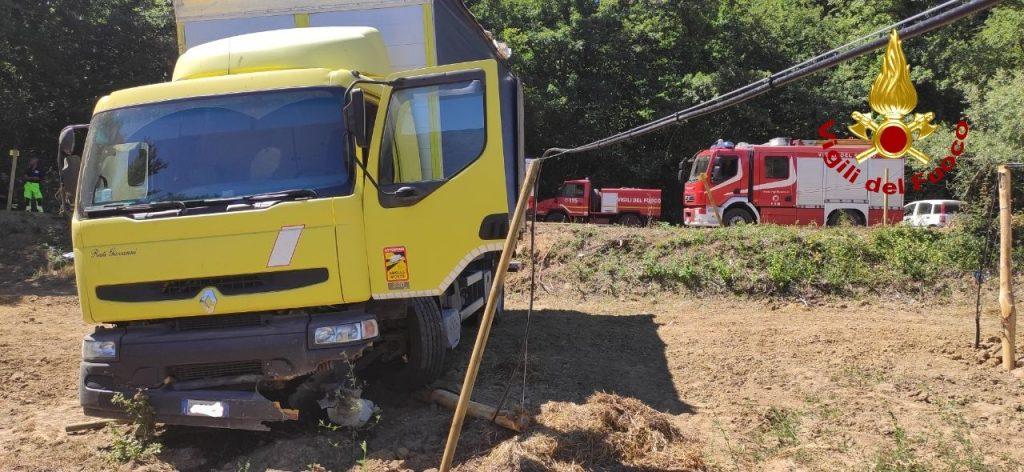 Il camion che ha causato la tragedia