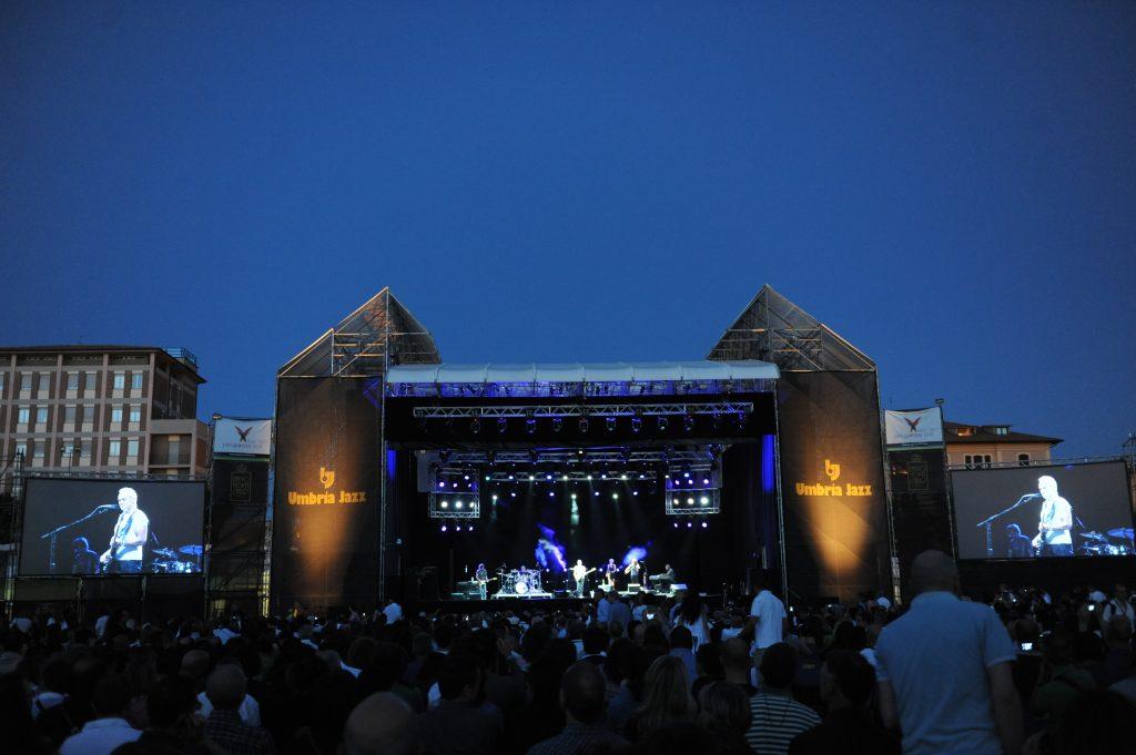 Un passata edizione di Umbria Jazz