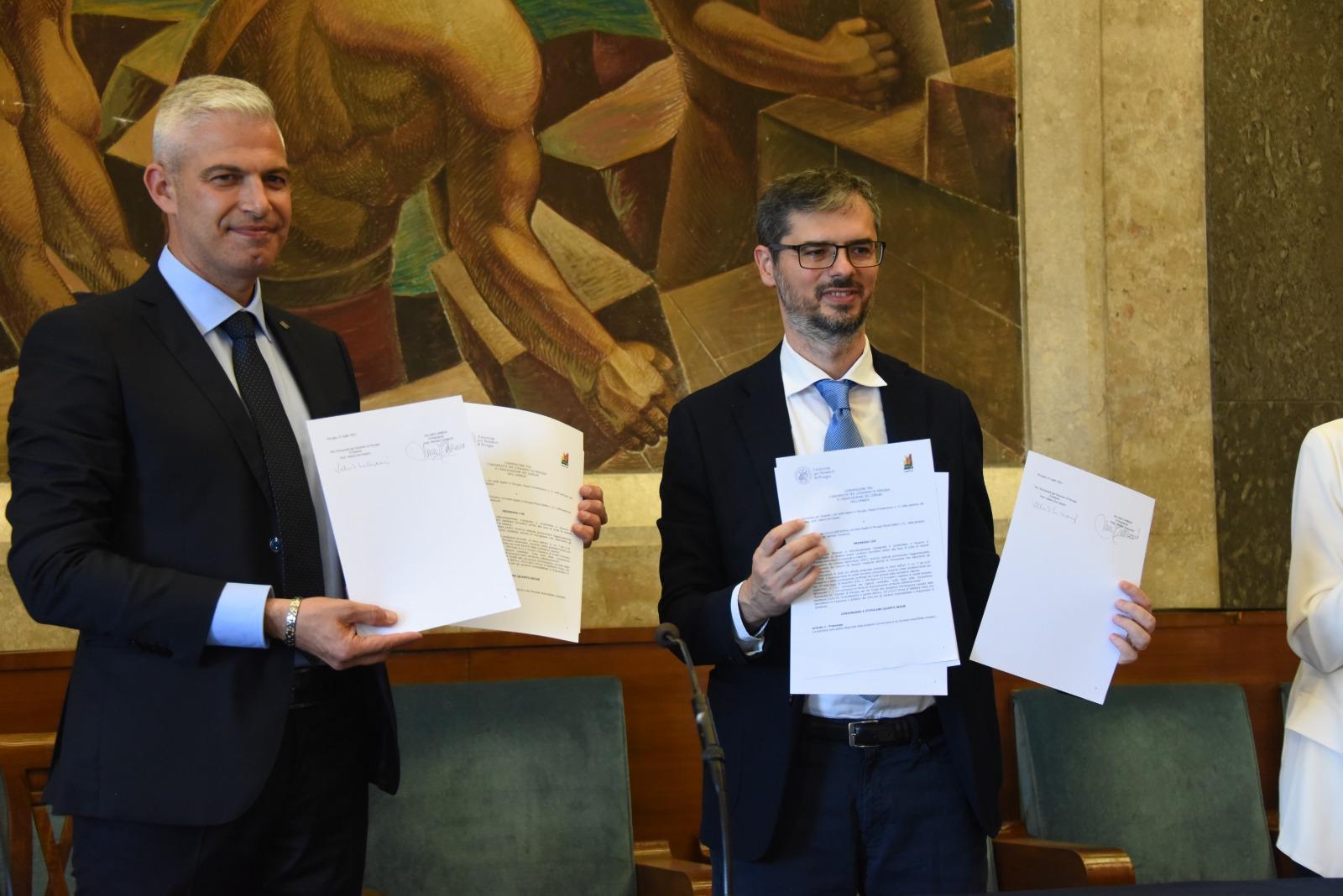 Convenzione Anci Umbria - Università per Stranieri Perugia