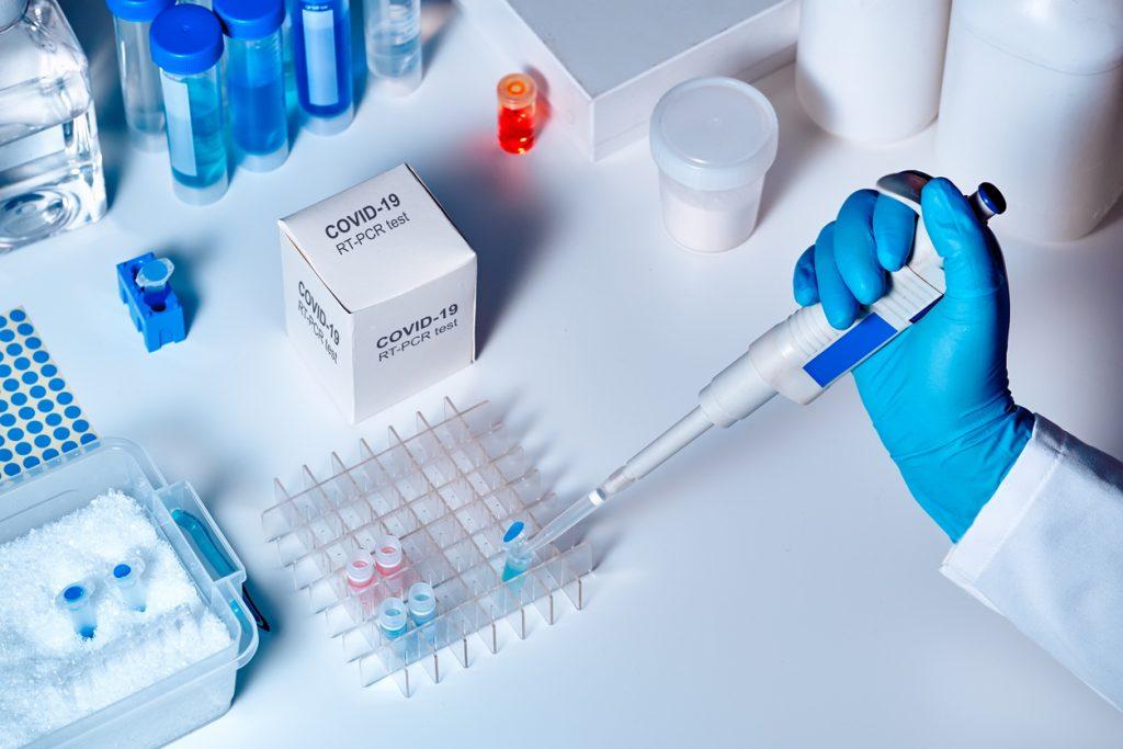 Un laboratorio medico