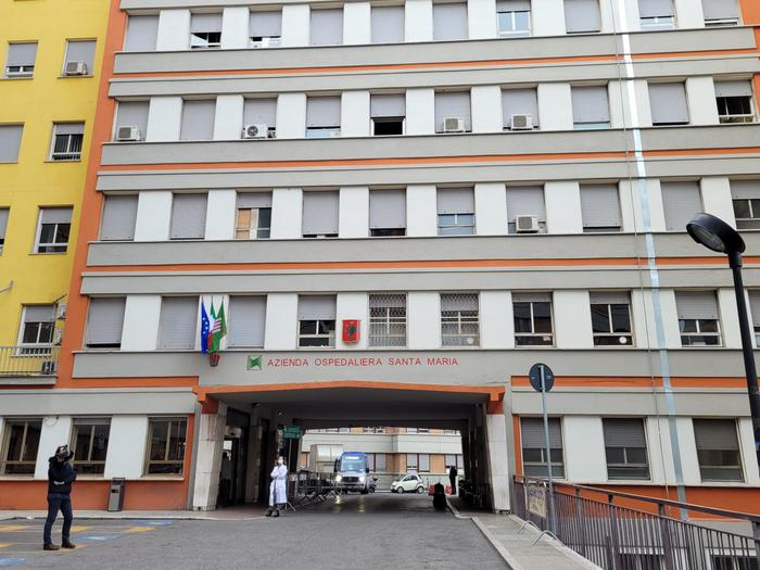 L'ospedale di Terni