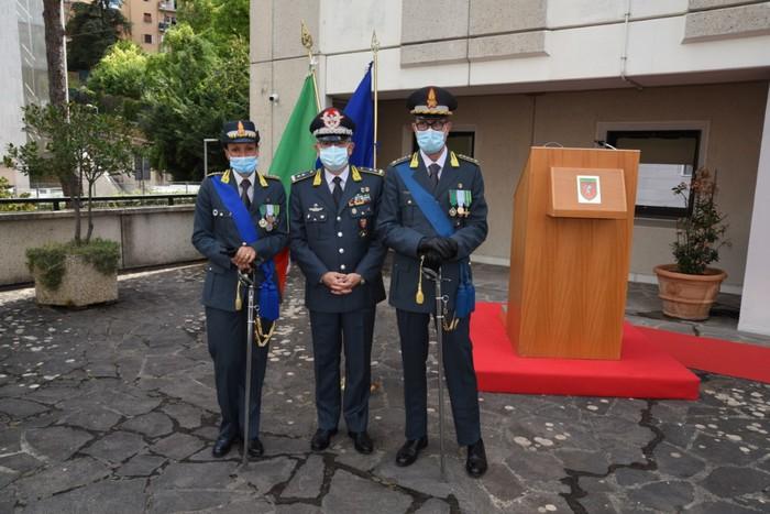 Antonella Casazza nuovo comandante provinciale della Gdf di Perugia